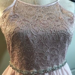 Rare Editions Dresses - Rare Editions Elegant Lace /Jewels Party Dress S12